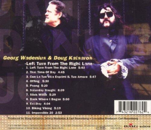 Bild 2: Georg Wadenius, Left turn from the right lane (1999, digi, & Doug Katsaros)