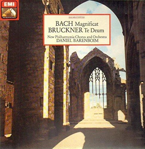 Bild 1: Bach, Magnificat, BWV 243/Bruckner: Te deum (EMI) (Lucia Popp, Anne Pashley..New Philh. Chorus & Orch. London/Barenboim)