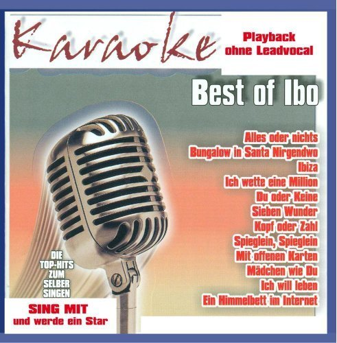 Bild 1: Ibo, Karaoke-Best of (2002)