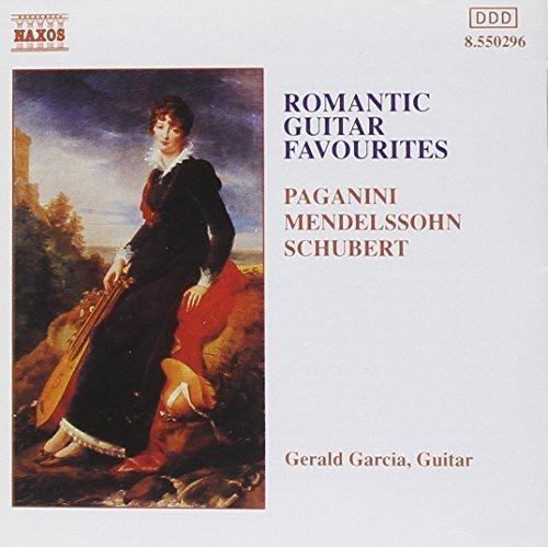 Bild 1: Gerald Garcia, Romantic guitar favourites (1989/92, Naxos)