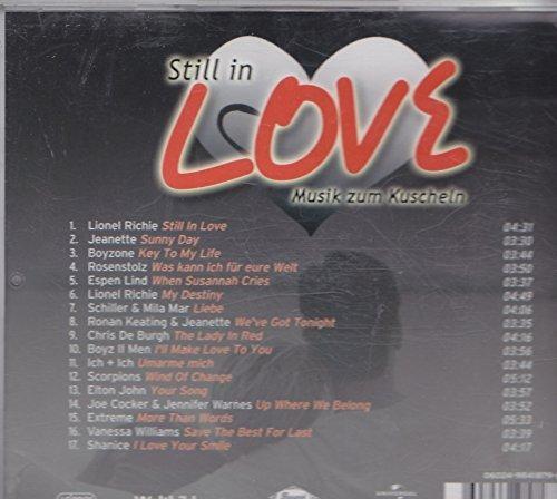 Bild 2: Still in Love-Musik zum Kuscheln (2006), Lionel Richie, Jeanette, Rosenstolz, Schiller & Mila Mar, Ich + Ich..