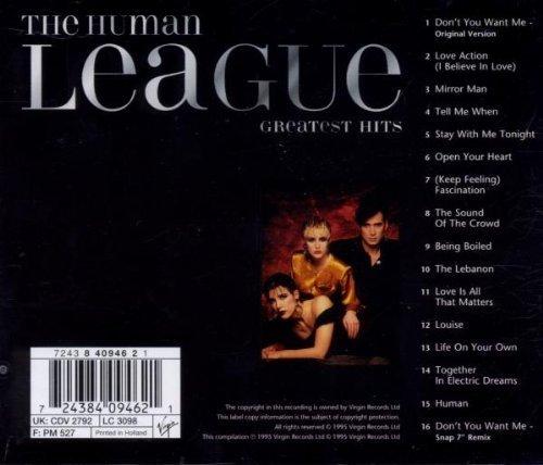 Bild 2: Human League, Greatest hits (16 tracks, 1981-95)