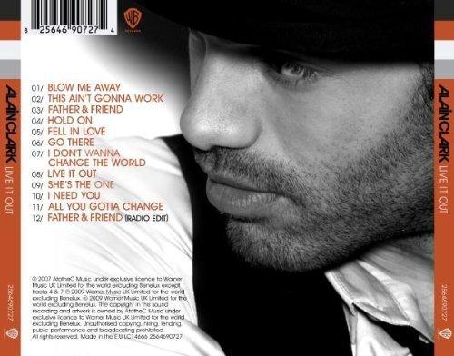 Bild 2: Alain Clark, Live it out (2009; 12 tracks)
