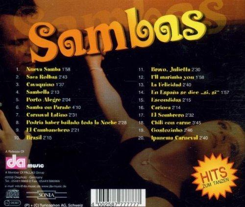 Image 2: Sambas (da/Sonia), Don Raphael & The Maxican Brass, Claudio Alzano y su Orq., Orq. Hugo Strasser..