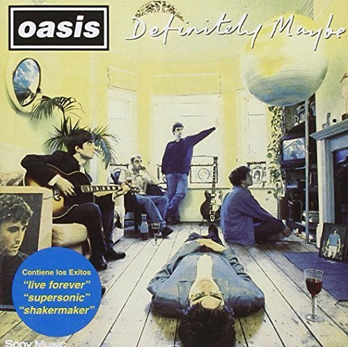 Bild 1: Oasis, Definitely maybe (1994, US)