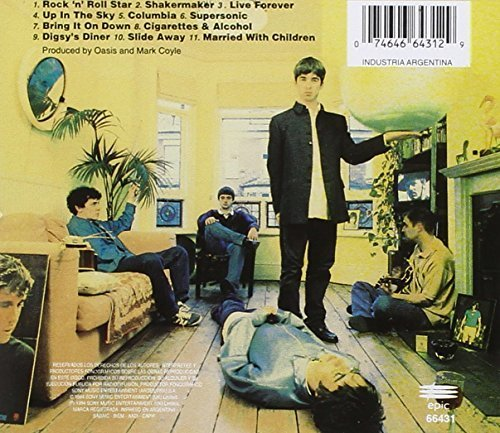 Bild 2: Oasis, Definitely maybe (1994, US)