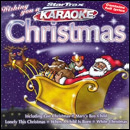 Bild 1: Karaoke-Wishing you a Karaoke Christmas (1998, StarTrax), We wish you a merry christmas, Rocking around the christmas tree, When a child is born..