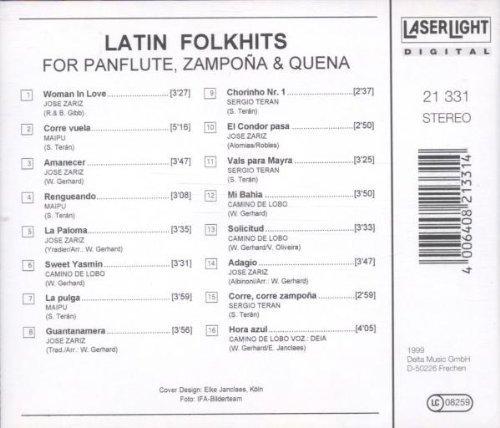 Bild 2: Latin Folkhits for Panflute, Zampoña and Quena, Jose Zariz, Maipu, Camino de Lobo..