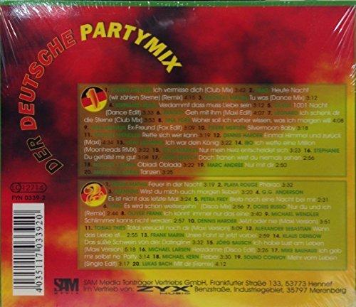 Bild 2: Der Deutsche Party-Mix 2 (2005, #zyx/fyn0339), Tommy Fischer, Andreas Martin, Bernhard Brink, Denise..