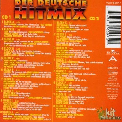 Bild 2: Der Deutsche Hit Mix (2003, Uwe Hübner, BMG/AE), Mike Bauhaus, Olaf Henning, Hannes Schöner..