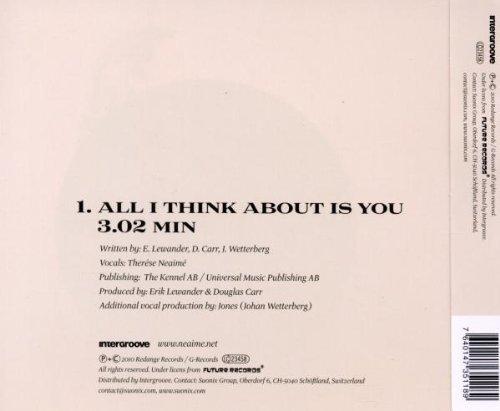 Bild 2: Therése Neaimé, All I think about is you (2010; 1 track)