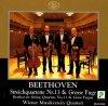 Beethoven, Streichquartett Nr. 13, op. 130/Grosse Fuge, op. 133 (J, 1993) (Wiener Musikverein Quartett)