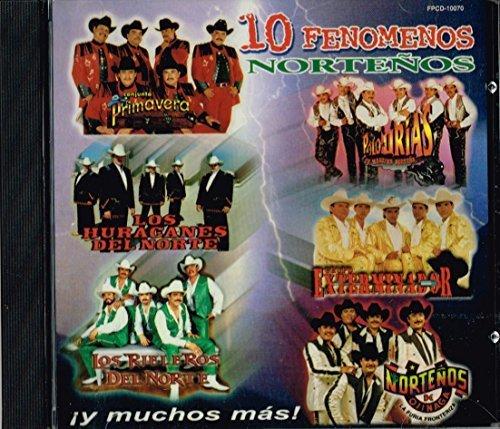 Bild 1: 10 Fenomenos Norteños (2000), Los Huracanes Del Norte, Polo Urias, Los Norteños de Ojinaga, Los Capos de Mexico..