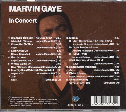 Bild 2: Marvin Gaye, In concert (11 tracks, Selected Sound)