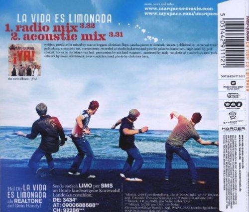 Bild 2: Marquess, La vida es limonada (2008; 2 tracks)