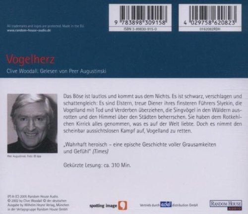 Bild 3: Clive Woodall, Vogelherz (2005, Leser: Peer Augustinski)