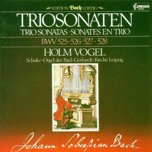 Bild 1: Bach, Triosonaten (BWV 525-528, Capriccio, 1984) (Holm Vogel, Schuke-Orgel)