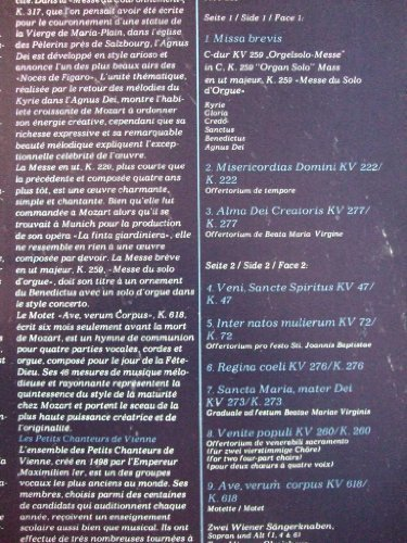 Image 3: Wiener Sängerknaben, Mozart-Geistliche Musik