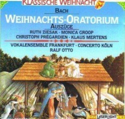 Bild 1: Bach, Weihnachtsoratorium-Auszüge (Laserlight, 1992) (Vokalensemble Frankfurt, Concerto Köln/Otto, Ruth Ziesak..)