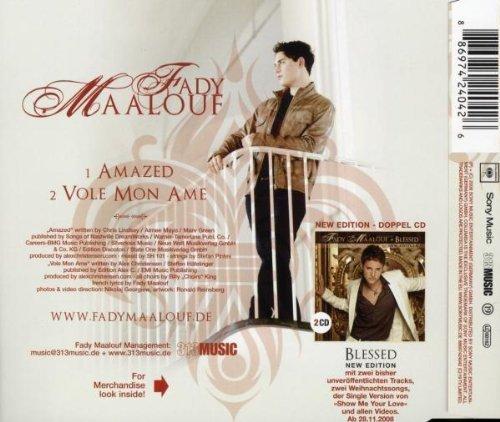 Bild 2: Fady Maalouf, Amazed (2008; 2 tracks)