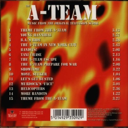 Bild 2: A-Team (TV Score), Mike Post, Pete Carpenter