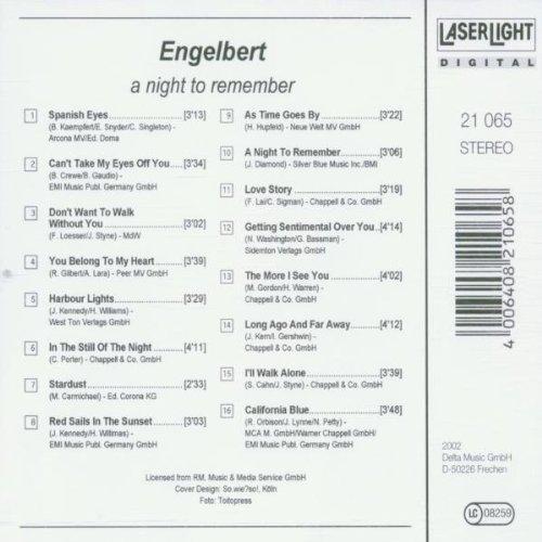Bild 2: Engelbert, A night to remember (#laserlight21065)