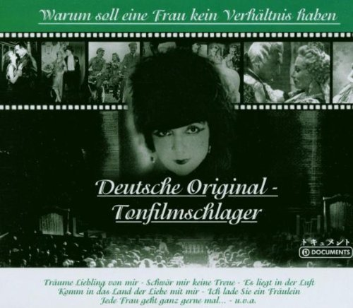 Bild 1: Deutsche Original-Tonfilmschlager, Warum soll eine Frau kein Verhältnis haben: Hans Albers & Irene Ambrus, Gustav Gründgens...