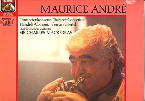 Фото 1: Maurice André, Trompetenkonzerte von (Handel, Albinoni, Telemann, Hertel, EMI)