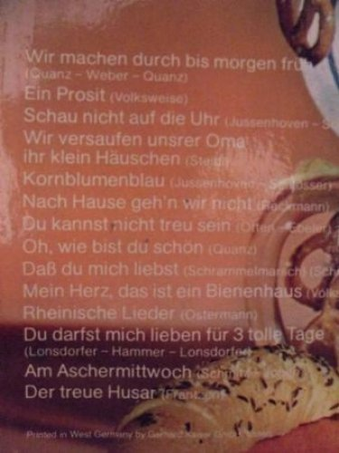 Bild 2: Friedel Wende (Orch.), Wir machen durch bis morgen früh (& Narhalla-Blasorch. & Chor)