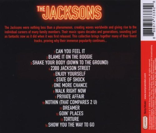 Bild 2: Jacksons, Can you feel it-Collection (14 tracks, 2009)