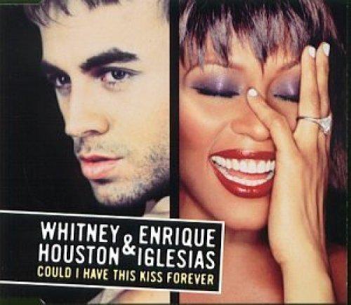 Bild 1: Whitney Houston, Could I have this kiss forever (AUS, 2000, & Enrique Iglesias)