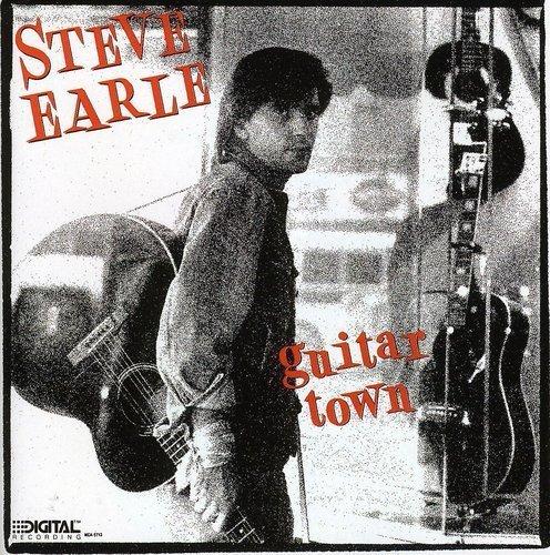 Bild 1: Steve Earle, Guitar town (1986)