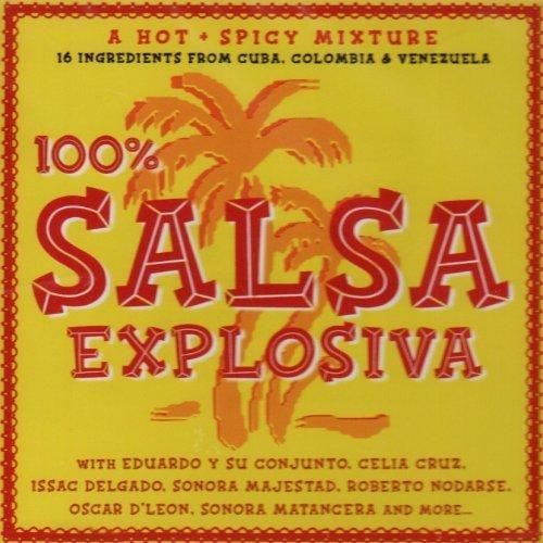 Bild 1: 100% Salsa Explosiva, Celia Cruz, Eduardo y su Conjunto, Roberto Nodarse, Sonora Matancera, Grupo Galé..