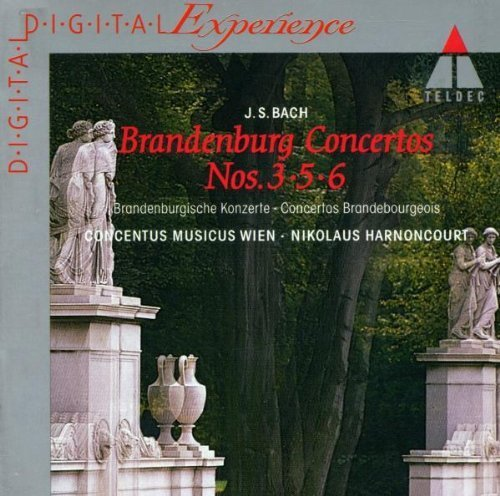 Bild 1: Bach, Brandenburgische Konzerte Nr. 3, 5, 6 (Teldec, 1982) Concentus musicus Wien/Harnoncourt