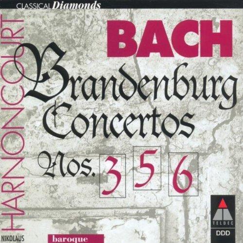 Bild 3: Bach, Brandenburgische Konzerte Nr. 3, 5, 6 (Teldec, 1982) Concentus musicus Wien/Harnoncourt