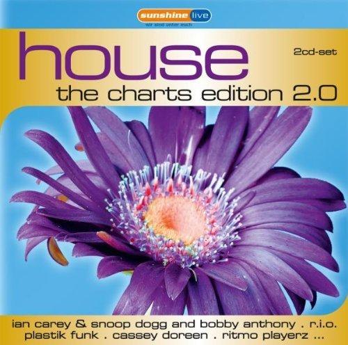Bild 1: House-The Charts Edition 2.0 ('11, Sunshine live, #zyx82491), Medina, LMAA, Swedish House Mafia vs. Tinie Tempah, Ducks On Dope, G&G..