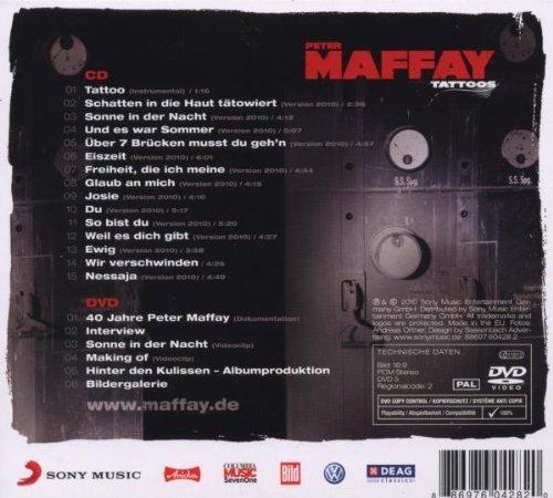 Фото 2: Peter Maffay, Tattoos (2010, CD/DVD)