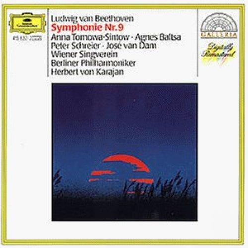 Bild 1: Beethoven, Sinfonie Nr. 9, op. 125 (DG/Galleria, 1977) (Berliner Philharmoniker/Karajan, Anna Tomowa-Sintow, Peter Schreier..)