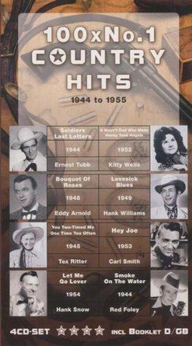 Bild 1: 100x No. 1 Country Hits 1944 to 1955 (14x25cm-sized box), Floyd Tillman, Bing Crosby & Andrews Sisters, Ernest Tubb, Al Dexter..