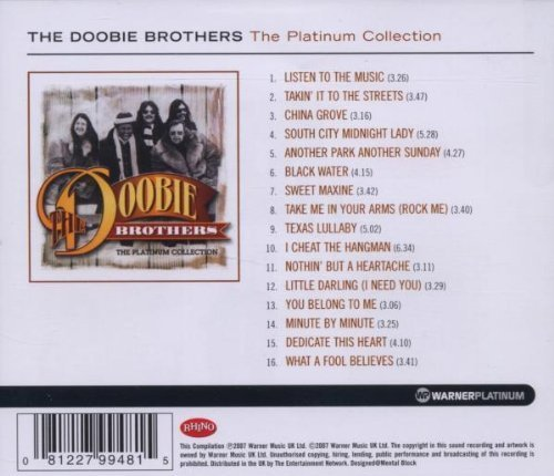 Bild 2: Doobie Brothers, Platinum collection (2007, Rhino)