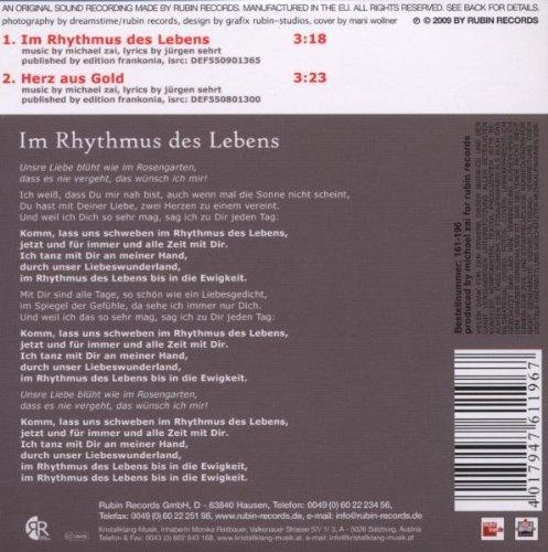 Фото 2: Duo California, Im Rhythmus des Lebens (2009; 2 tracks, cardsleeve)