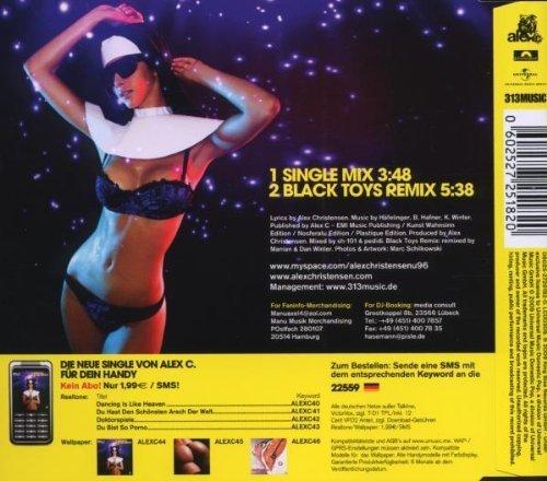 Bild 2: Alex C., Dancing is like heaven (2009; 2 tracks, feat. Yass)