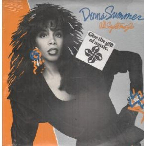 Bild 1: Donna Summer, All systems go (1987, US)