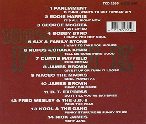 Bild 2: 100% Funk (#tcd2565), Parliament, Eddie Harris, George McCrae, Bobby Byrd, Curtis Mayfield..