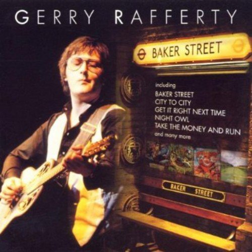Bild 1: Gerry Rafferty, Baker street (compilation, 16 tracks, 1977-82/98, EMI Gold)