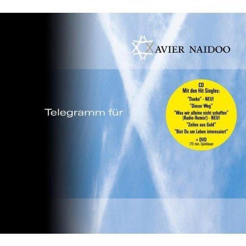 Bild 1: Xavier Naidoo, Telegramm für X (2005, #6714405, CD/DVD, digi)