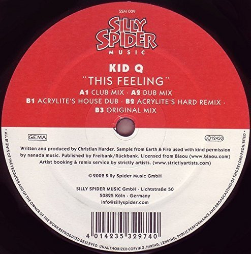 Bild 1: Kid Q, This feeling (2002)
