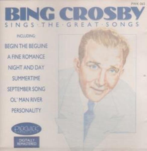 Bild 1: Bing Crosby, Sings the great songs (1988, Pickwick)