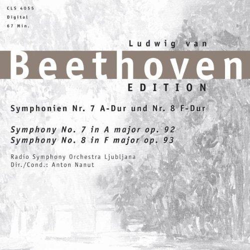 Bild 1: Beethoven, Sinfonie Nr. 7, op. 92/Nr. 8, op. 93 (Zyx Classics) (RSO Ljubljana/Nanut)