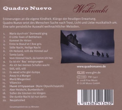 Bild 2: Quadro Nuevo, Weihnacht (2008, digi)